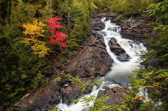 ragged falls, oxtongue river