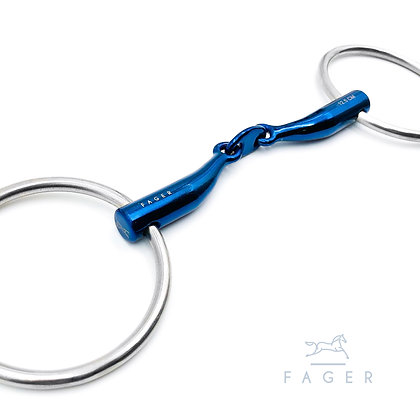 CARL - Fager's Titanium Bar Relief Loose Ring Bit