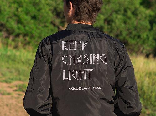 Keep Chasing Light Bomber Jacket
