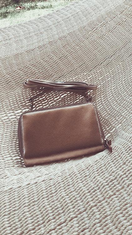 Dusty Rose Wallet Handbag