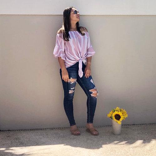 Blusa rosa variante
