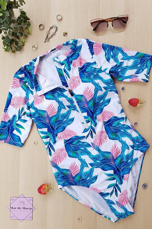 KOKAL Front Zipper Swimwear