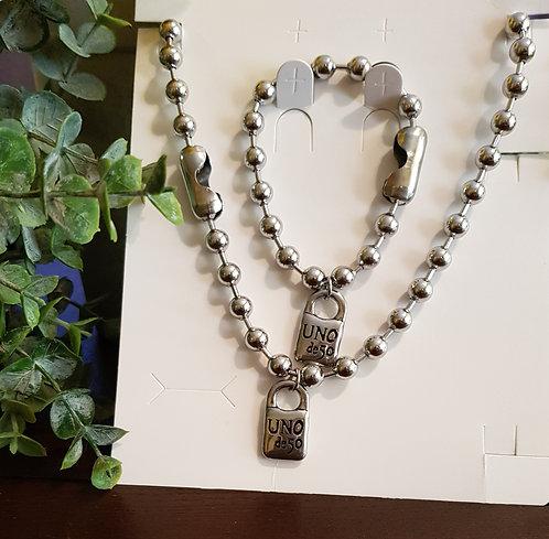 Uno de 50 Necklace Set