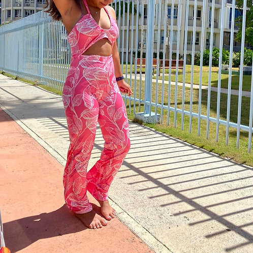 French Rose Jumpsuit