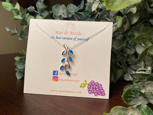Blue Opal Necklace
