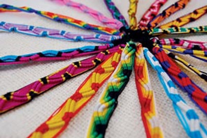 Friendship Bracelet PJT 33201 Peru