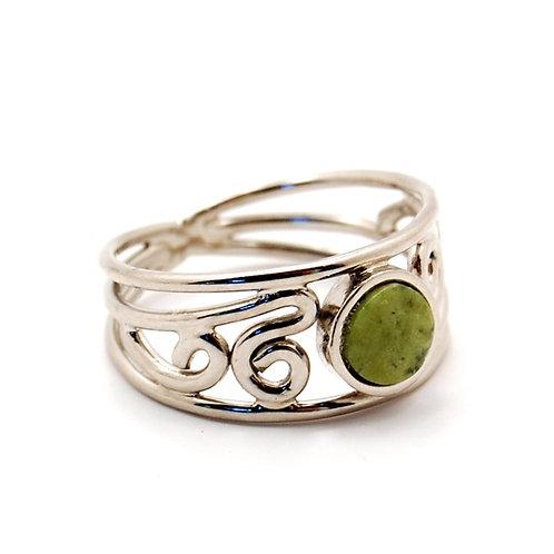 Ornate Stone Ring MI 21012  Peru