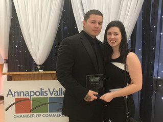We won best artist/custom design for the second year back in March for the Annapolis valley:)