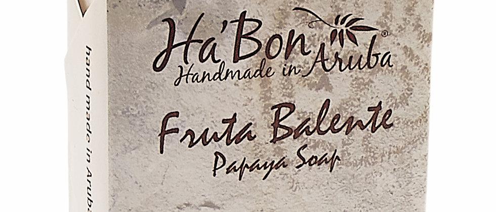 """Papaya Soap """"Fruta Balente"""""""