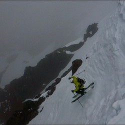 Letting it hang out on Ben Nevis this sp