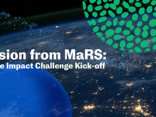 MaRS Launches pan-Canadian Climate-Impact Challenge