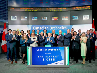 DeMarco Allan LLP Congratulates Canadian Orebodies Inc. on TSXV Listing