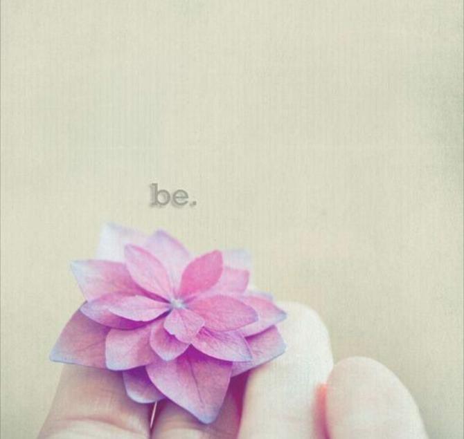 Let go of striving