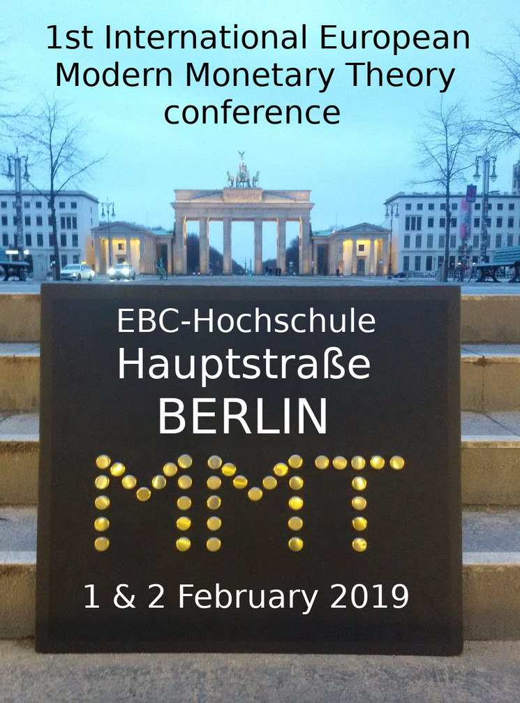 MMT conference Brandenburger Tor pos