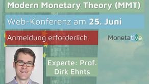 Vorstandssprecher Dirk Ehnts zu Gast bei der Monetative
