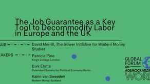 Dirk Ehnts beim Global Forum von Democratizing Work