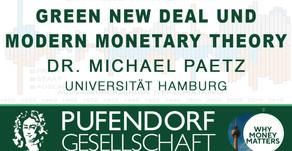 Videobeitrag zum Green New Deal und MMT