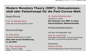 Wirtschaftspolitisches (Online-)Forum zu MMT in Graz