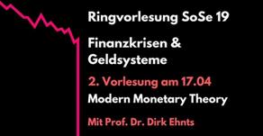 Einführung in die MMT an der FU Berlin am Mittwoch, dem 17. April
