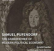 Vortrag von Aril Saether über Samuel Pufendorf und moderne politische Ökonomie (heute Abend)