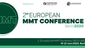 ABGESAGT: 2. Europäische MMT-Konferenz vom 19.-21. Juni 2020 in Berlin