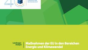 Klima- und Energieziele der EU verwirklichen kostet 1.115 Milliarden Euro pro Jahr