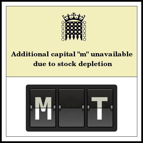 MMT stock depletion