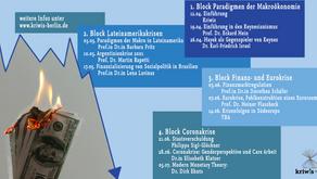 Finanzkrisen und Geldsysteme – Online-Ringvorlesung der KriWis an der FU Berlin (SoSe 2021)