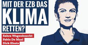 Dirk Ehnts diskutiert mit Sahra Wagenknecht (21.10.)