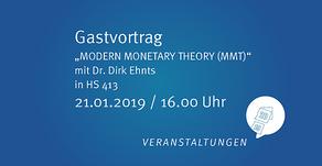 Vortrag von Dirk Ehnts an der Uni Würzburg (21.1.)