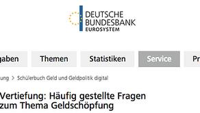 Deutsche Bundesbank: Geldmultiplikator ist falsch!
