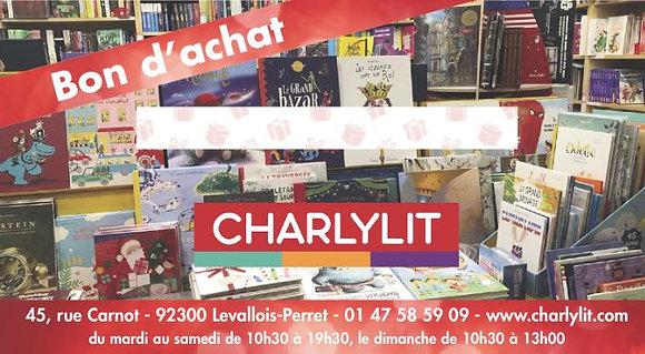 Bon d'achat de 10€ au magasin Charlytlit