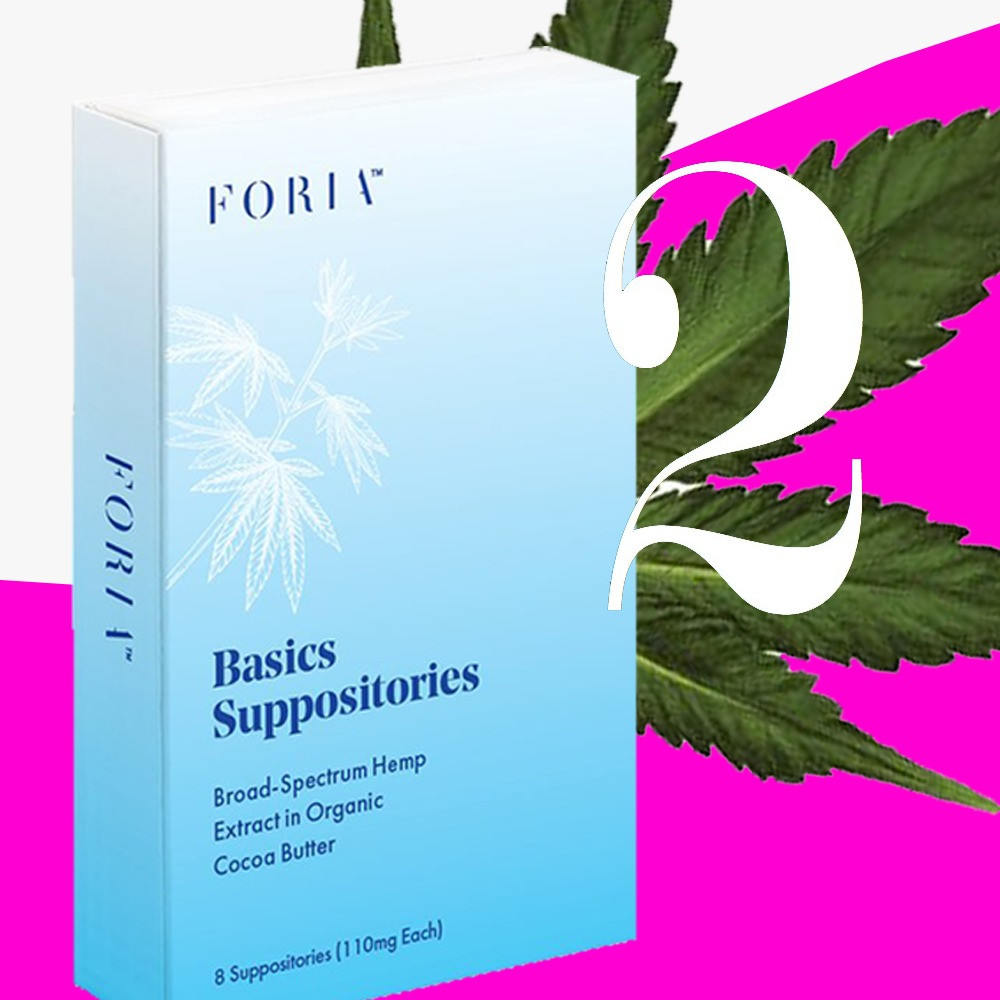 Foria – Basic Suppositories Broad-Spectrum Hemp