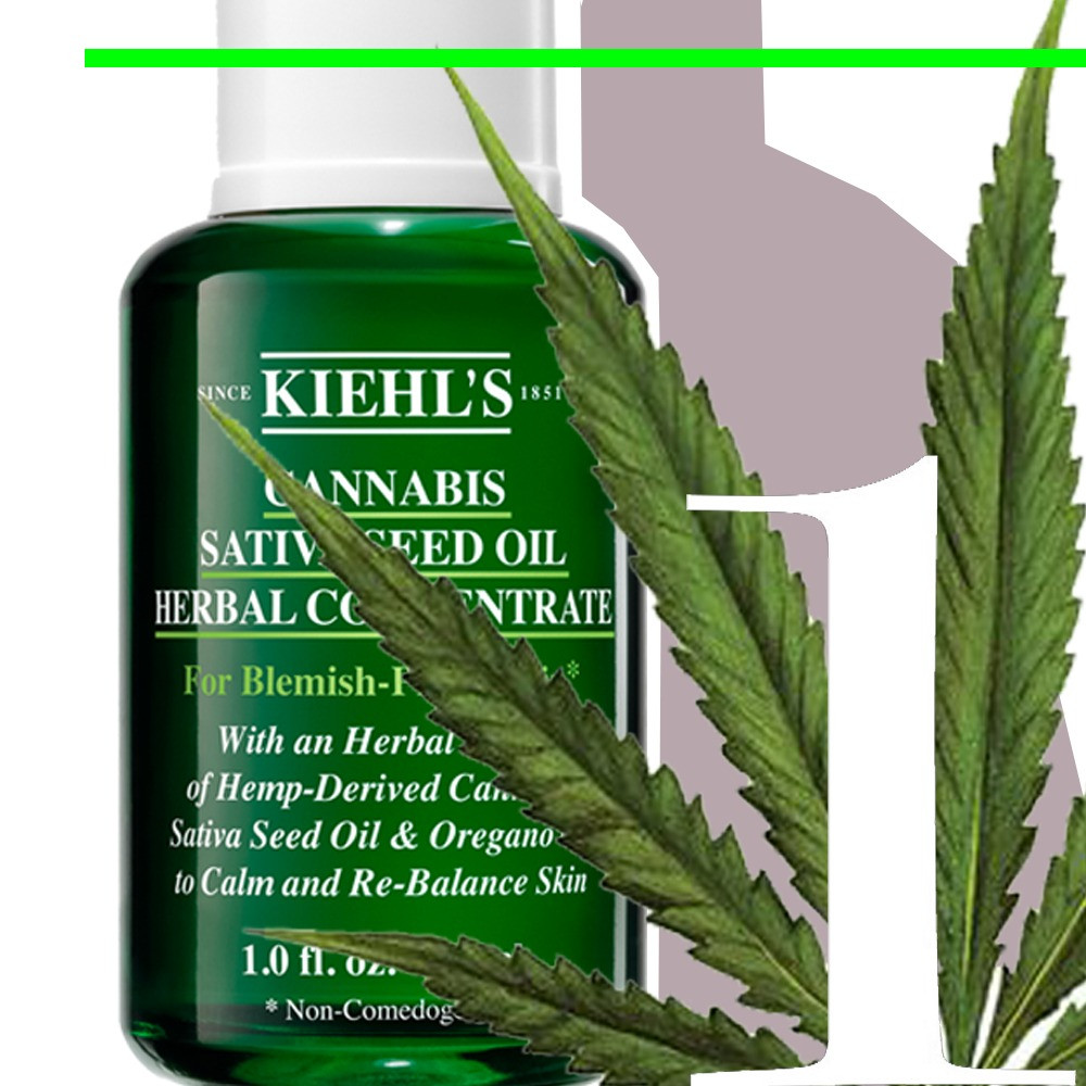 Kiehl's – Cannabis Sativa Seed Oil Herbal Concentrate