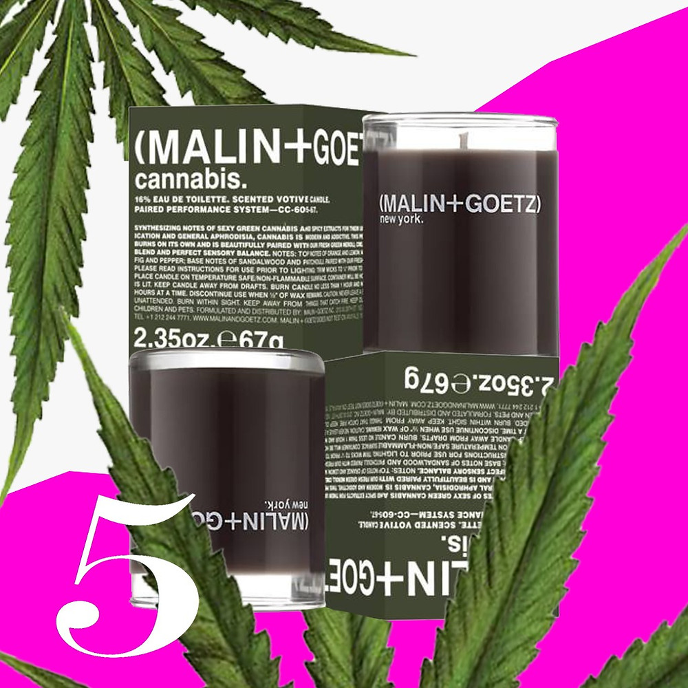 Malin + Goetz – Cannabis Scented Votive Candle