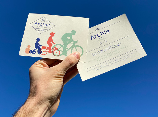 Archie rides into this world