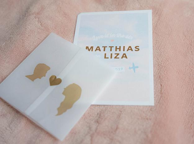 Huwelijk Matthias en Liza