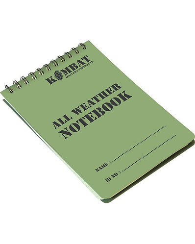 A6 Waterproof Notepad