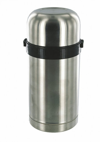 1l Duro Food Flask Silver