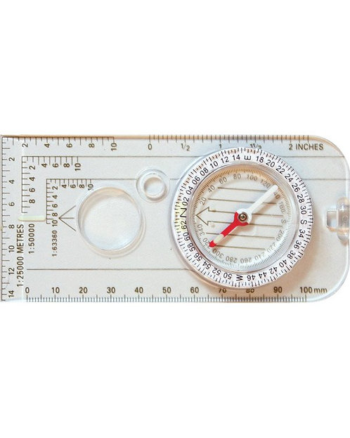 Military Map Compass