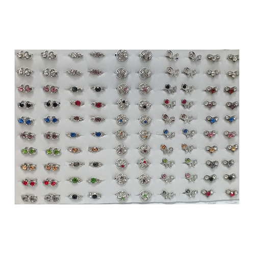 Baby Brooch 3 Diamonds Mix 5 Patterns