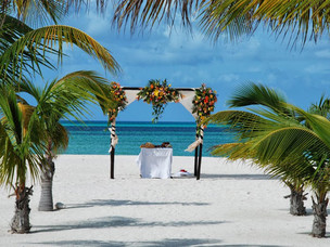 Passion island is a favorite for Mayan weddings!