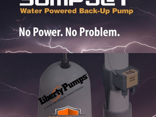 Water Powered Back-Up Pump!