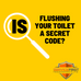 Is Flushing Your Toilet A Secret Code?