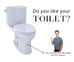 Do you like your toilet?