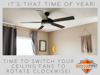 It's time to switch your ceiling fan!