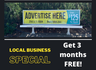 Have You Seen Our Outdoor Advertising?