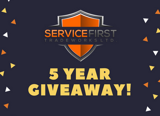 5 Year Give Away!!