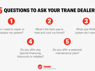 5 Questions To Ask Your Trane Dealer