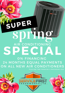 Super Spring Air Conditioning Special